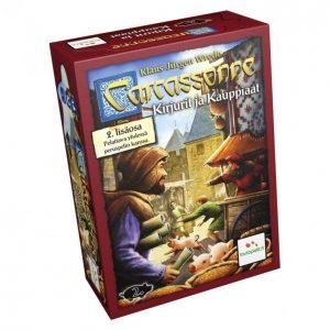 Carcassonne Kirjurit Ja Kauppiaat