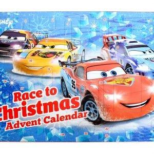 Cars Joulukalenteri Koulutarvikkeilla
