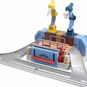 Chuggington Motorized Repair Shed leikkisetti