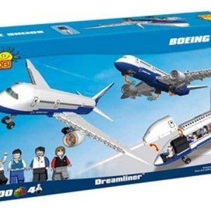 Cobi Boeing 787 Dreamliner-lentokone rakennuspalikkasarja 700 osaa