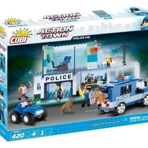 Cobi POLICE HQ 420 palaa