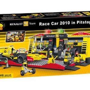 Cobi Renault F1-auton ja varikon rakennuspalikkasarja 450 osaa