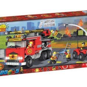 Cobi Rescue-sammutusryhmän ja paloauton rakennuspalikkasarja 500 osaa