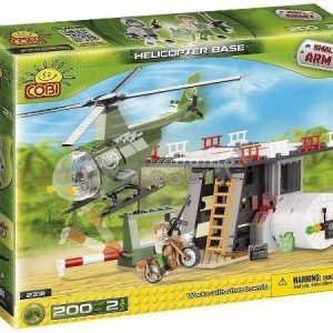Cobi Small Army Helikopter Base 200 osaa