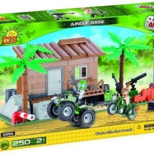 Cobi Small Army Jungle Base viidakkotukikohta 250 osaa