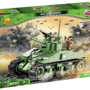 Cobi World War II M4 Sherman 400 osaa