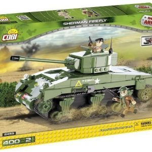 Cobi World War II Sherman Firefly Tankki 400 osaa