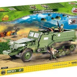 Cobi World War II US Half Track panssariauto 400 osaa