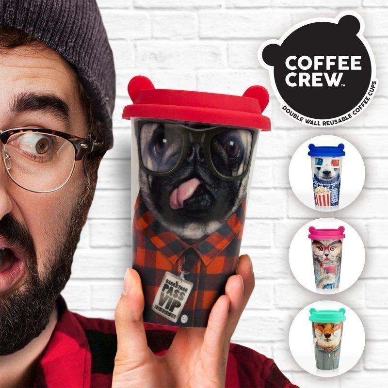 Coffee Crew Pug