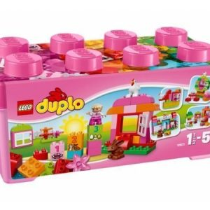 DUPLO All-in-One pinkki leikkilaatikko