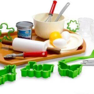 Dantoy Green Garden Leikkiruokasetti Leivontatarvikkeet verkkopussissa