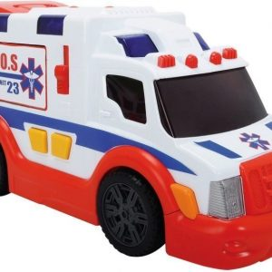 Dickie Ambulanssi valo- ja äänitoiminnolla 33 cm