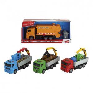 Dickie Toys Heavy City Truck Kuorma-Auto 25 Cm
