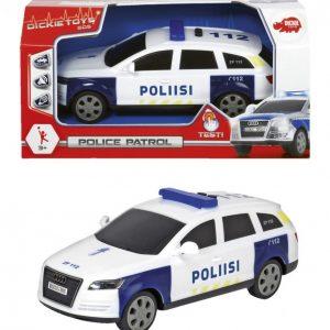 Dickie Toys Poliisiauto Ääni- Ja Valotoiminnoin
