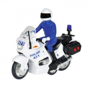 Dickie Toys Poliisimoottoripyörä Valo- Ja Äänitoiminnoin