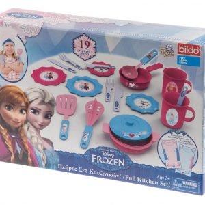 Disney Frozen 19-Os. Keittiötarvikesetti