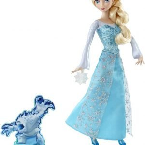 Disney Frozen Action Elsa -toimintanukke