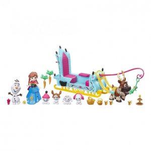 Disney Frozen Anna Ja Ystävien Reki Figuuri