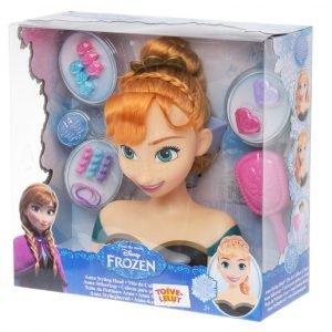 Disney Frozen Anna Kampauspää Ja Tarvikkeet