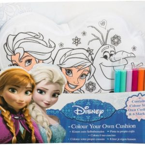 Disney Frozen Colour Your Own Pillow Love