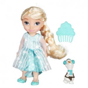 Disney Frozen Elsa Ja Olof Prinsessanukke 15cm