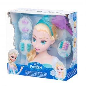 Disney Frozen Elsa Kampauspää Ja Tarvikkeet