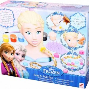 Disney Frozen Elsa Paint and Style Head