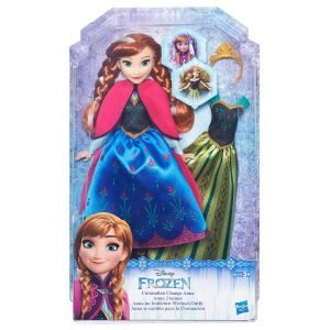 Disney Frozen Fashion Change Doll Anna Nukke