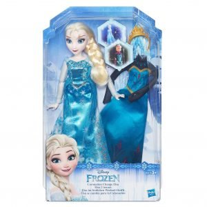 Disney Frozen Fashion Change Doll Elsa Nukke