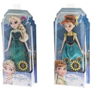 Disney Frozen Fever Fashion Nukke Lajitelma