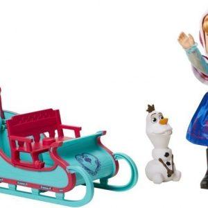 Disney Frozen Frozen Adventure Anna Hahmot sekä reki