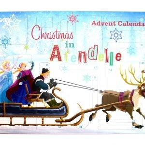 Disney Frozen Joulukalenteri Koulutarvikkeilla