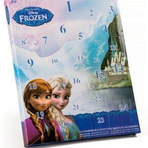Disney Frozen Joulukalenteri jossa koruja ja tarvikkeita
