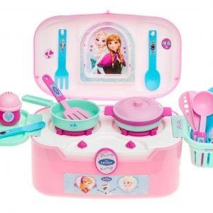 Disney Frozen Minikeittiö Ja Tarvikkeet