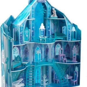 Disney Frozen Nukkekoti Snowflake Mansion
