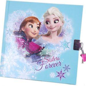 Disney Frozen Päiväkirja Turkoosi