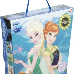 Disney Frozen Palapeli 3D 4 kpl