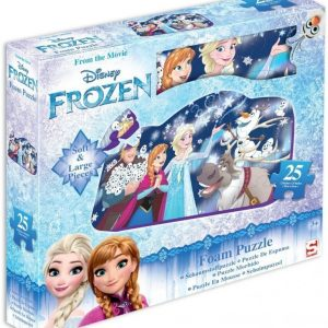 Disney Frozen Palapeli vaahtokumia