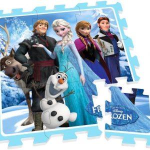 Disney Frozen Palapeli vaahtokumia 9 palaa