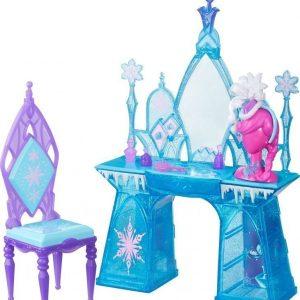 Disney Frozen Scene set Elsas Snow Glimmer Vanity