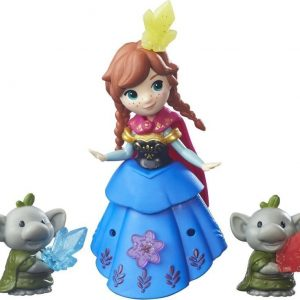 Disney Frozen Small Doll Pack Anna & Baby Troll