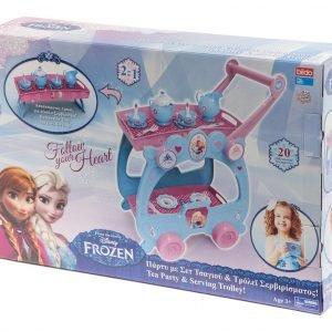 Disney Frozen Tarjoiluvaunu Ja Teeastiasto
