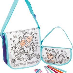 Disney Frozen Väritettävä laukku 2 kpl