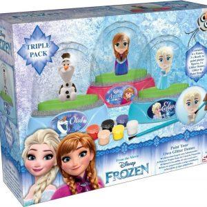 Disney Frozen Väritettävä lumisadepallo 3 kpl