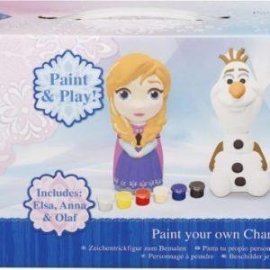 Disney Frozen Väritettävä posliinihahmo 3 kpl