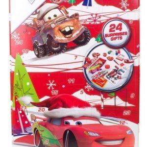 Disney Pixar Cars Adventtikalenteri koulutarvikkeilla