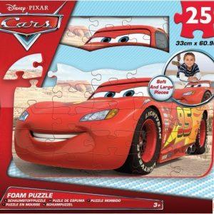 Disney Pixar Cars Palapeli vaahtokumia