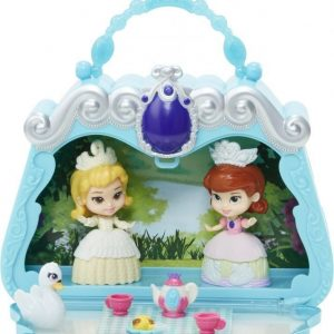 Disney Sofia the First Secret garden tea party Hahmosetti