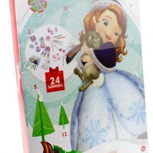 Disney Sofia the first Joulukalenteri koulutarvikkeilla