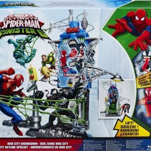 Disney Spiderman NYC Villain Invasion